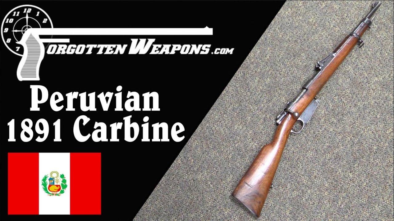 The Very Neat Peruvian Navy 1891 Mauser Carbine
