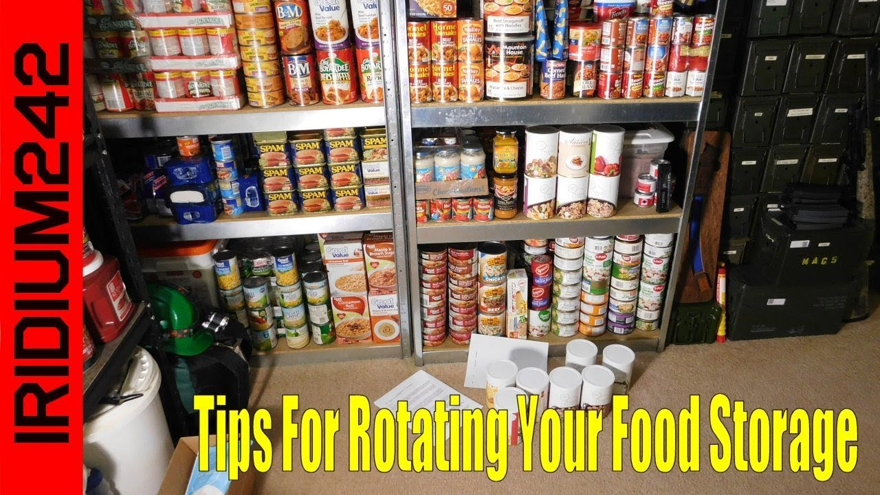 Prepper Tips For Rotating Your Food Storage!