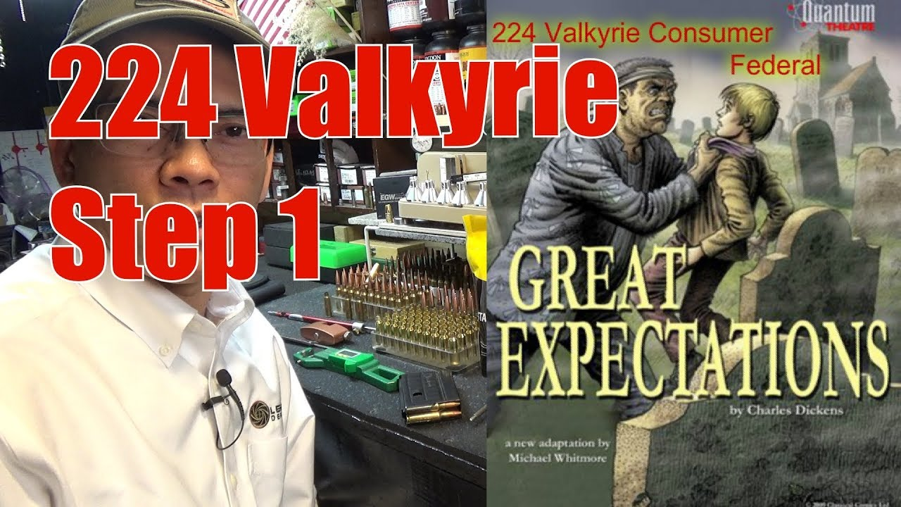 224 Valkyrie Step 1  A Smart Man Learns From His Mistakes, But A Genius