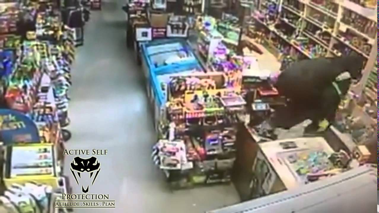 Clerk Pelted In Face During Robbery