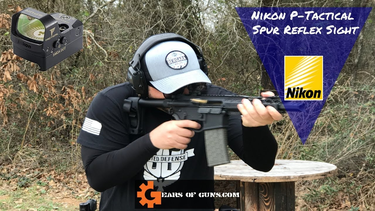 Nikon P-Tactical Spur - A reflex sight that boasts a 15,000 hour battery life?