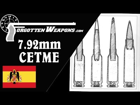 Full Auto at 1000m: The 7.92x41mm CETME Cartridge