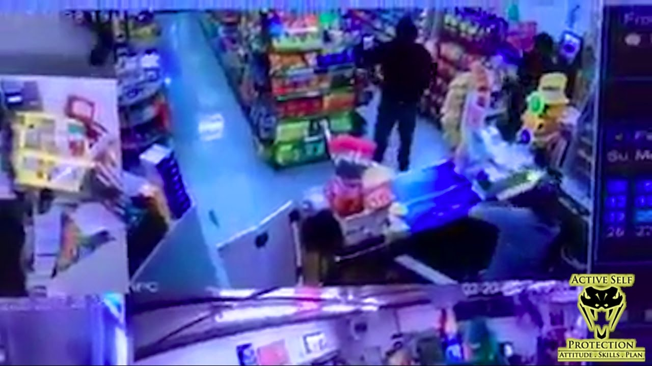 Clerk is Ready for Armed Robbers | Active Self Protection