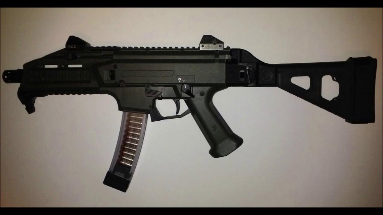 CZ Scorpion Evo 3 S1  OD Green Pistol Preview