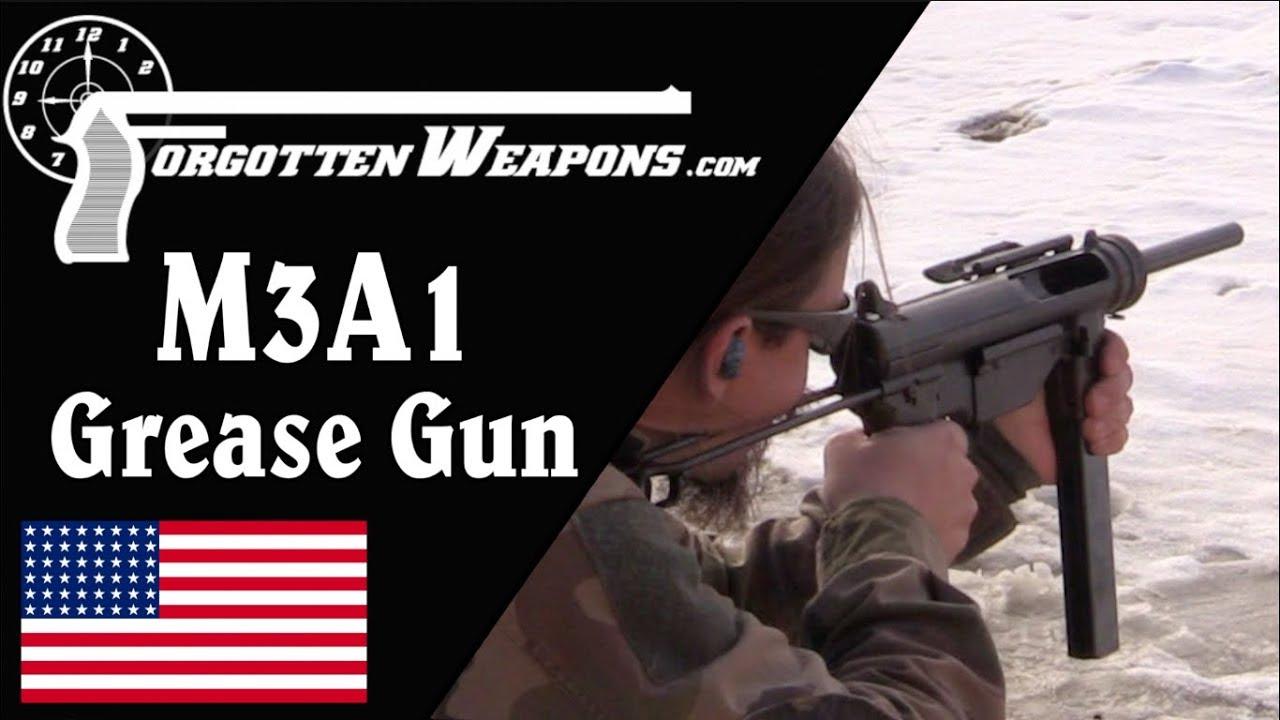 Shooting the M3A1 Grease Gun
