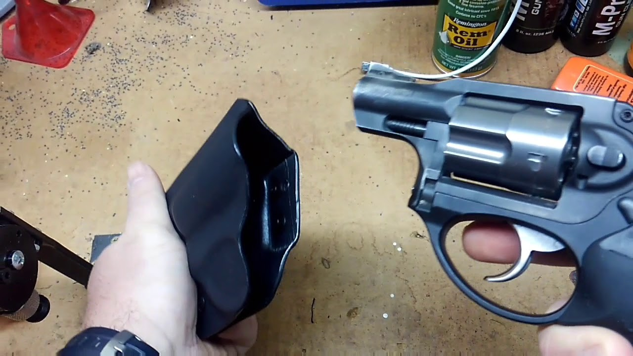 Philipsarmsco Ruger LCR holster. Unboxing/Review