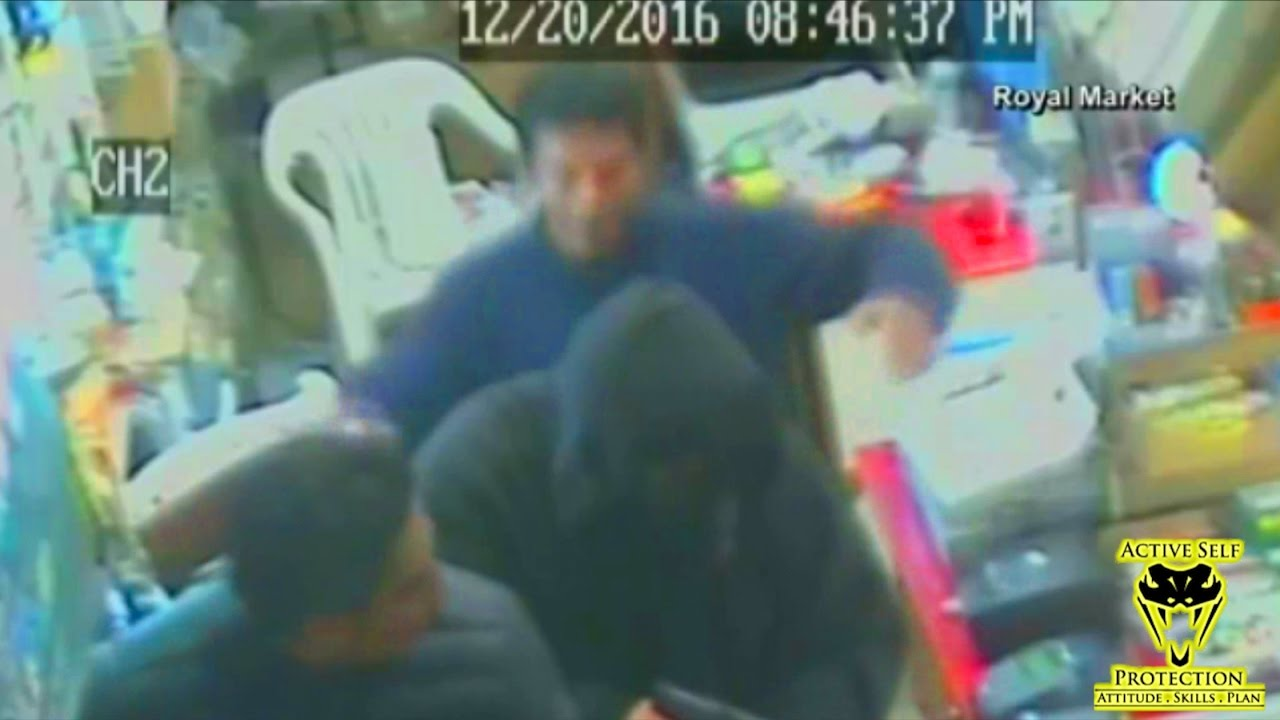 Two Brothers Team Up to Beat Armed Robber Down | Active Self Protection