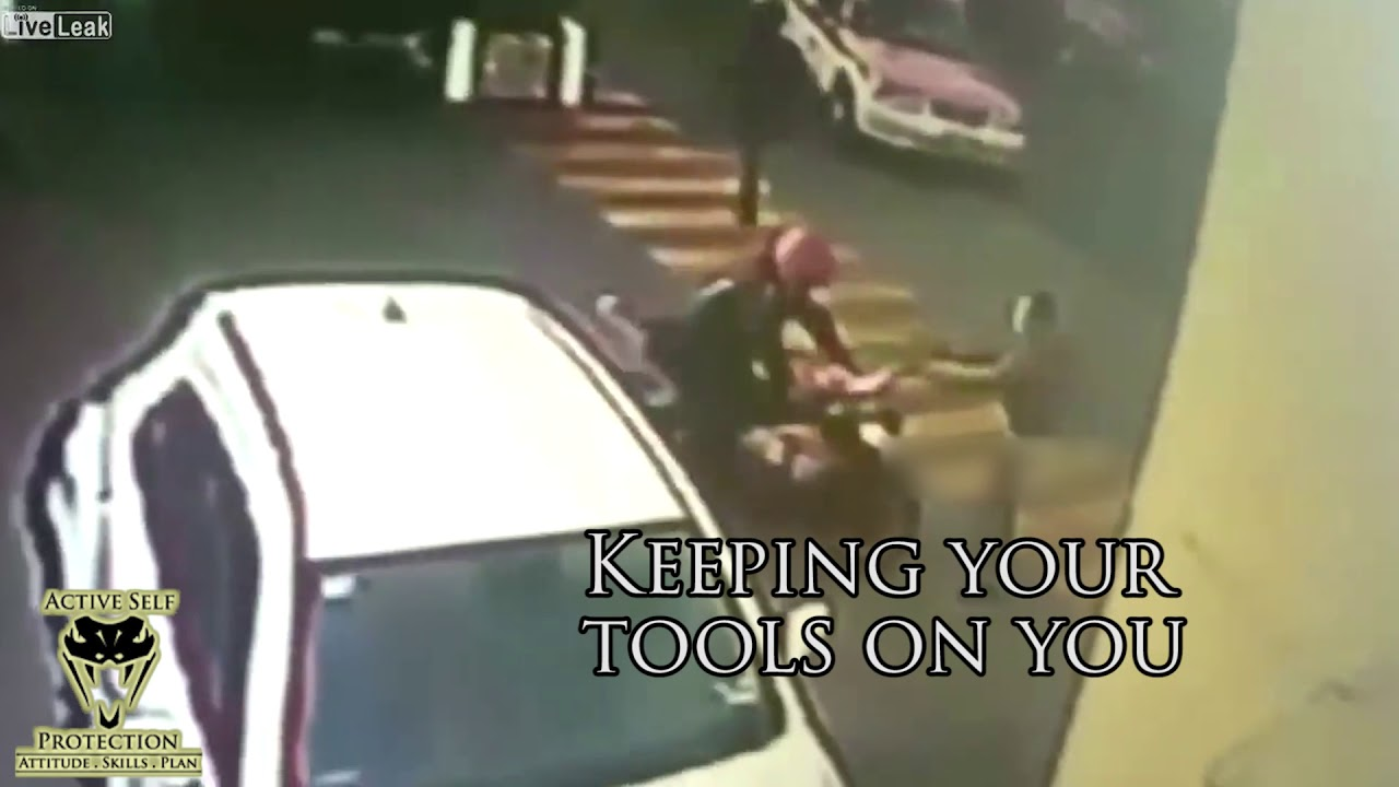 Moto Bandit Wasn't Expecting Motorcyclist to be Ready for Him | Active Self Protection
