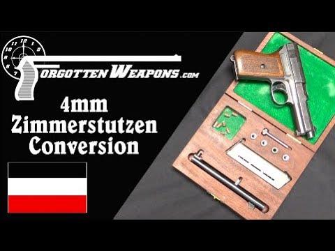 4mm Zimmerstutzen Parlor Conversion for a Mauser 1914