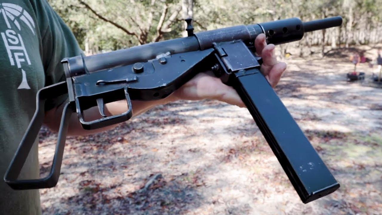 FrankenSten Vertical Feed STEN Gun