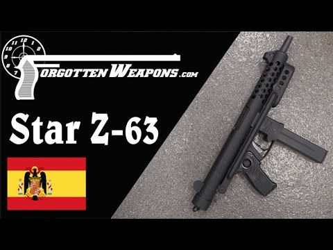 The Star Z-63 Submachine Gun: Better Than You Think