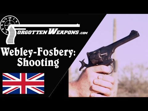Shooting the Webley-Fosbery Automatic Revolver - Including Safety PSA
