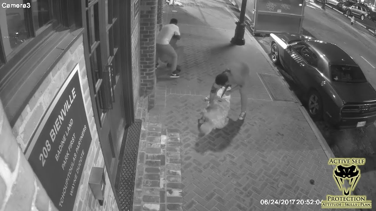 French Quarter Robbery Caught on Camera | Active Self Protection