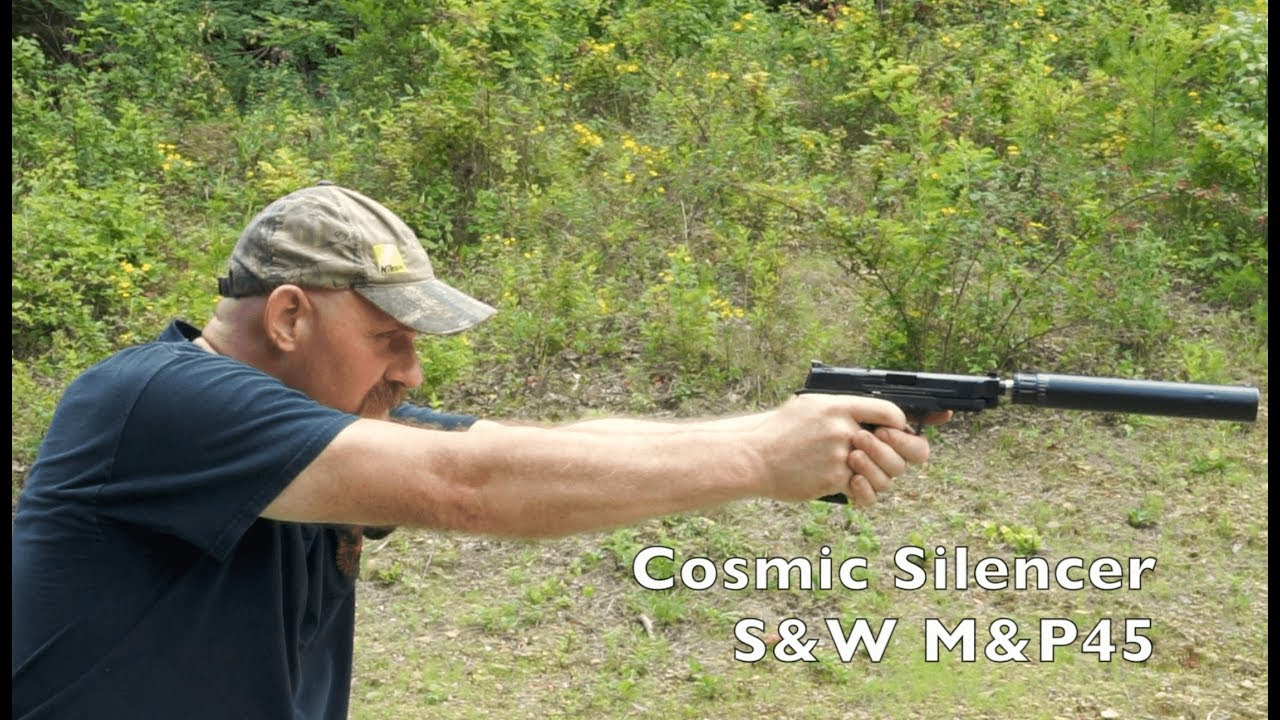Cosmic 45ACP Silencer Overview