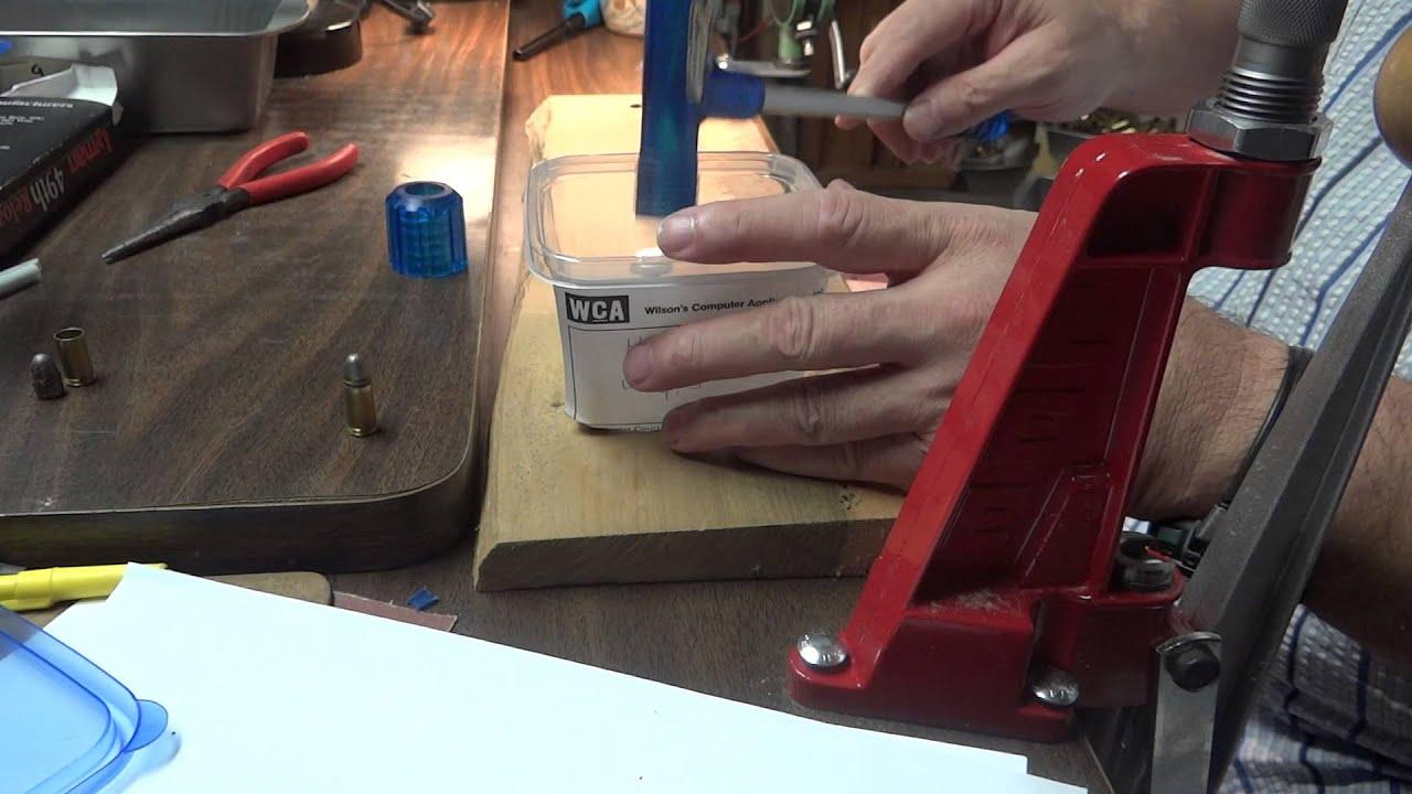 Reloading: Using a Bullet Puller