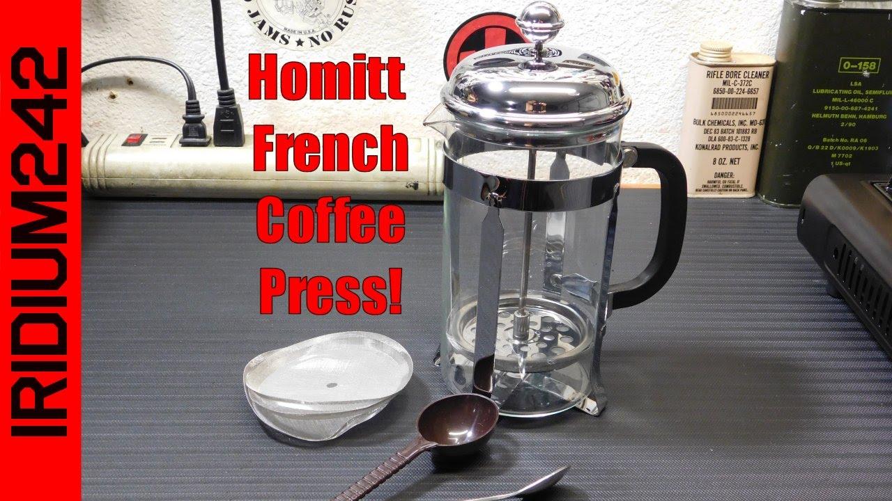 Homitt Coffee Press