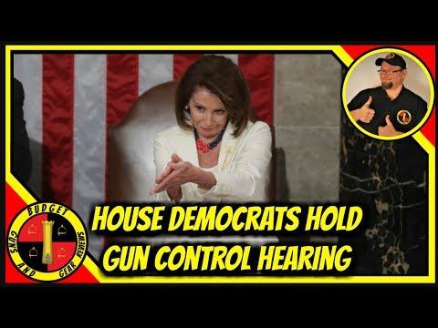 Dems Hold Gun Control Hearing; 50% Tax Increase on Ammo!