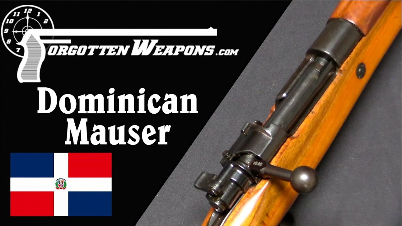 The Dominican Republic Gets Mausers, 50 Years Too Late