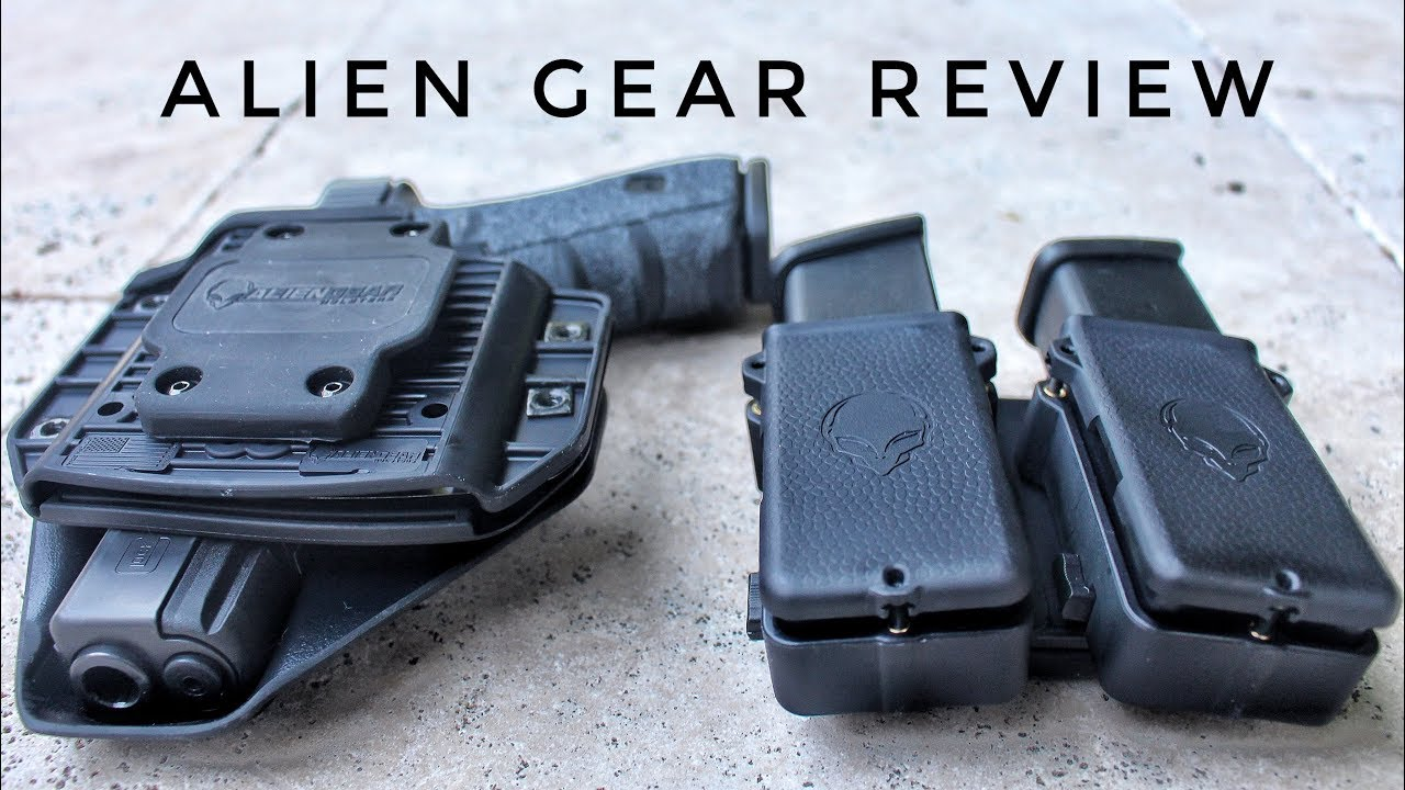 Alien Gear Cloak Mod OWB Holster Review + Double Magazine Pouch