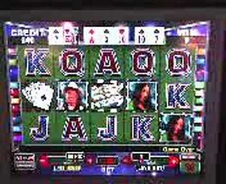 Video Slot: World Poker Tour