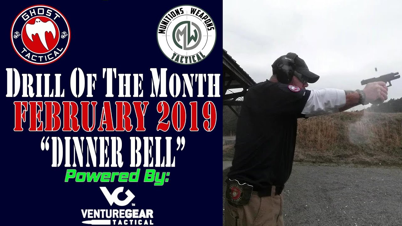 Ghost Tactical Drill of the Month:  February 2019: