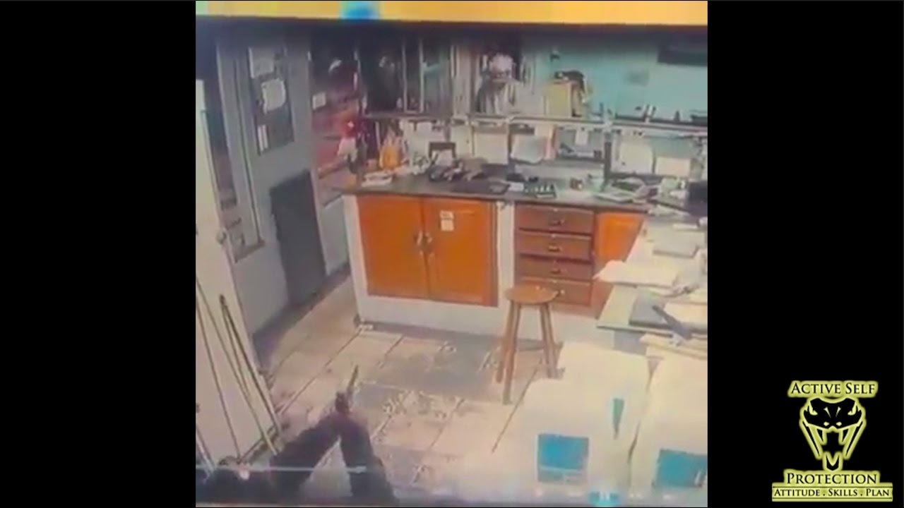 Armed Robber Wasn't Expecting Armed Female Resistance | Active Self Protection