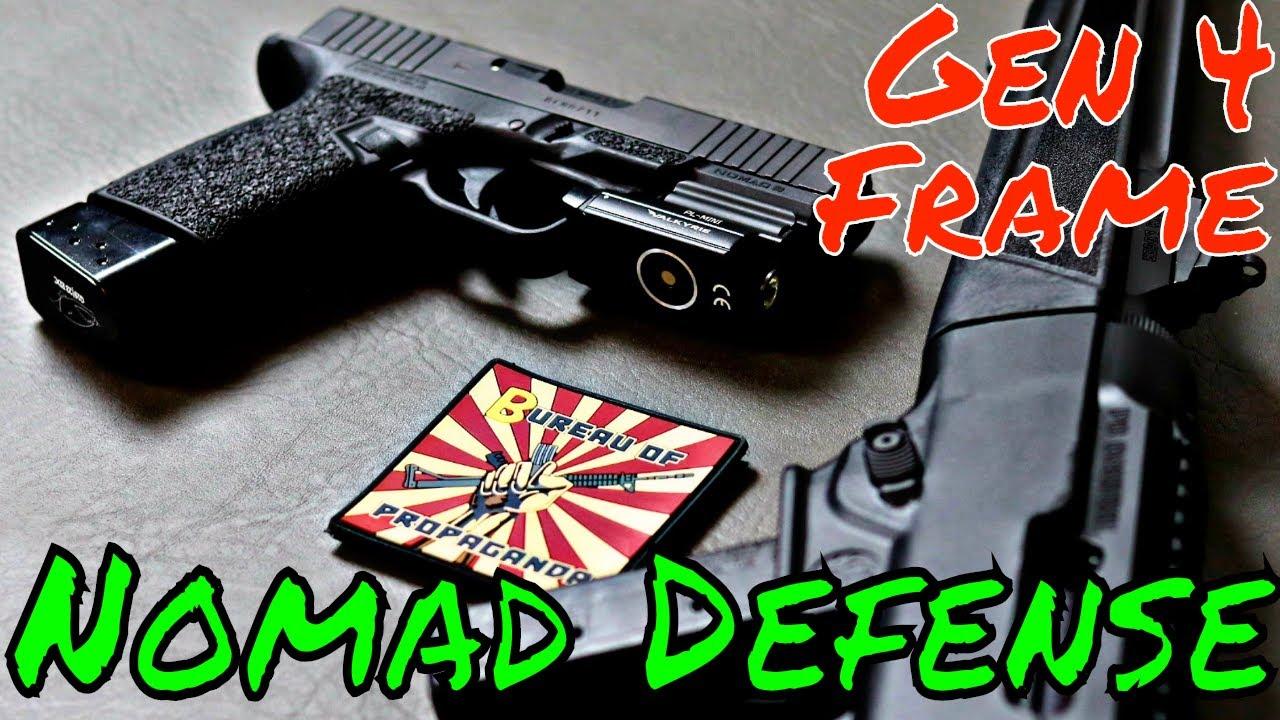 Nomad Defense Dominates Glock Frames!