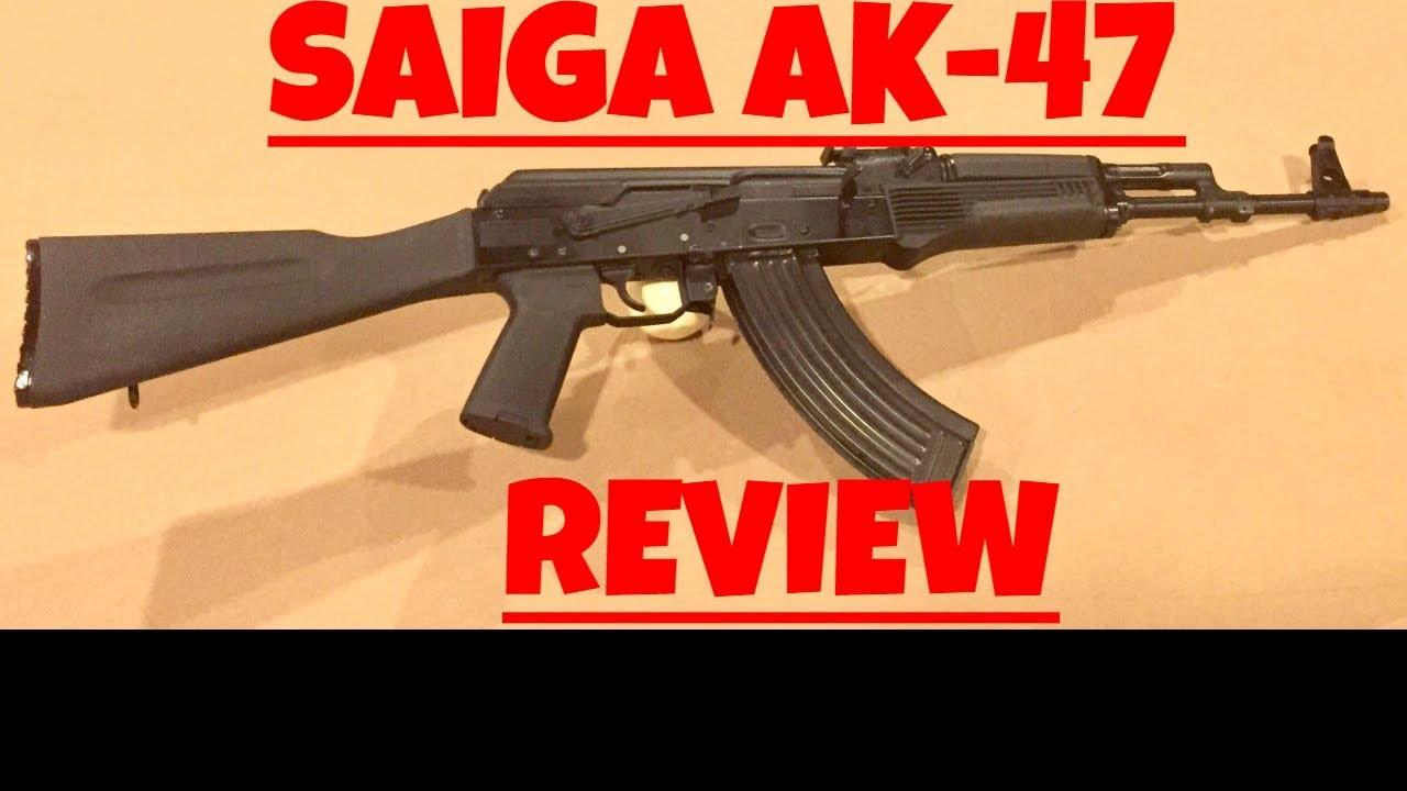 SAIGA AK47 REVIEW