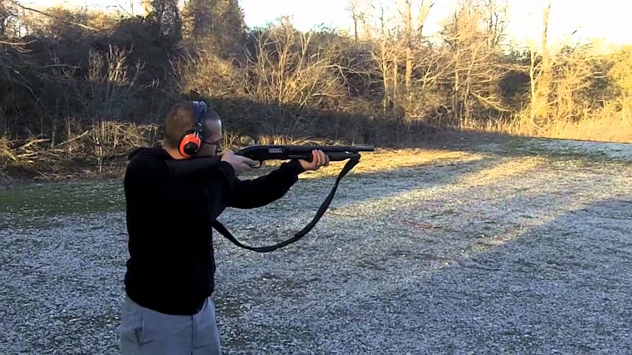 Fun Shooting Outdoors AK47 / Shotgun / G26 and more!