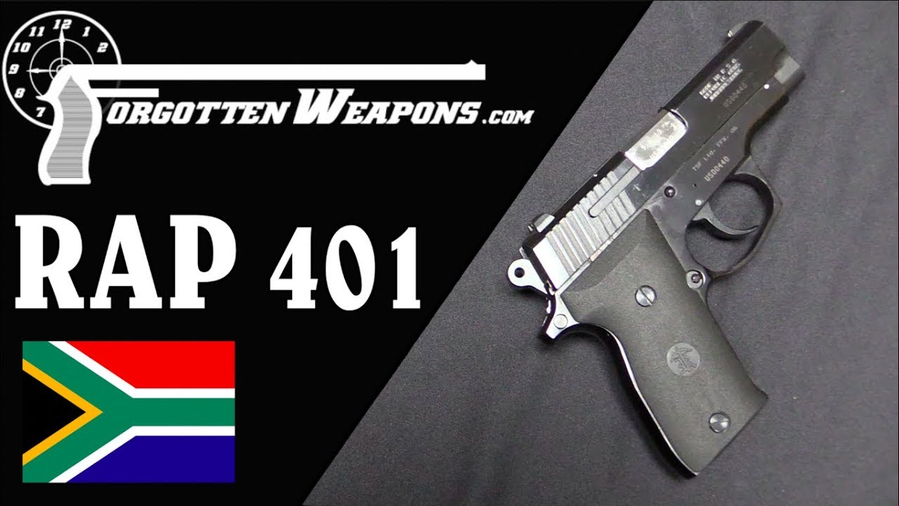 Republic Arms RAP-401: Compact South African Steel