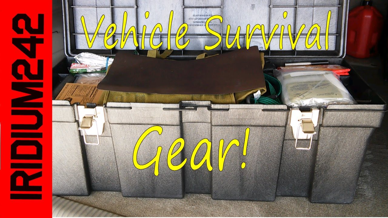 Vehicle Emergency Kit: Survival Gear For Your Car!