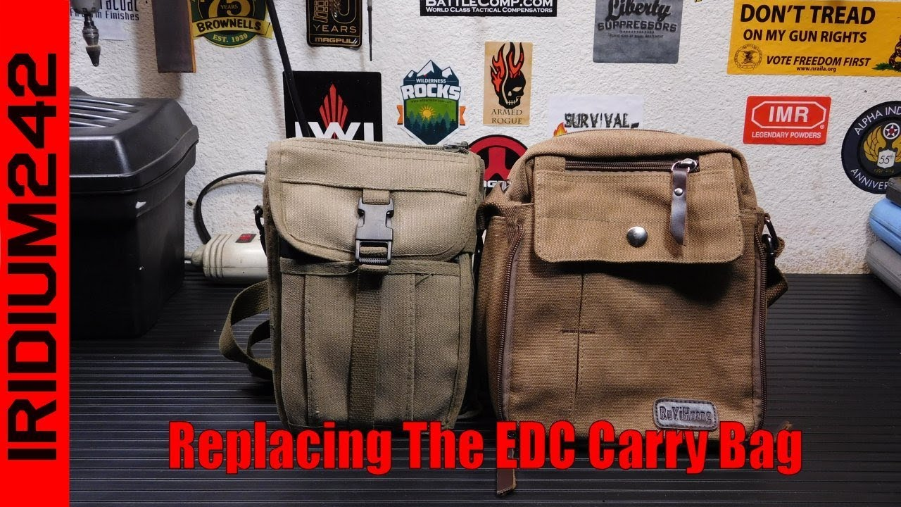 Replacing The EDC Carry Bag