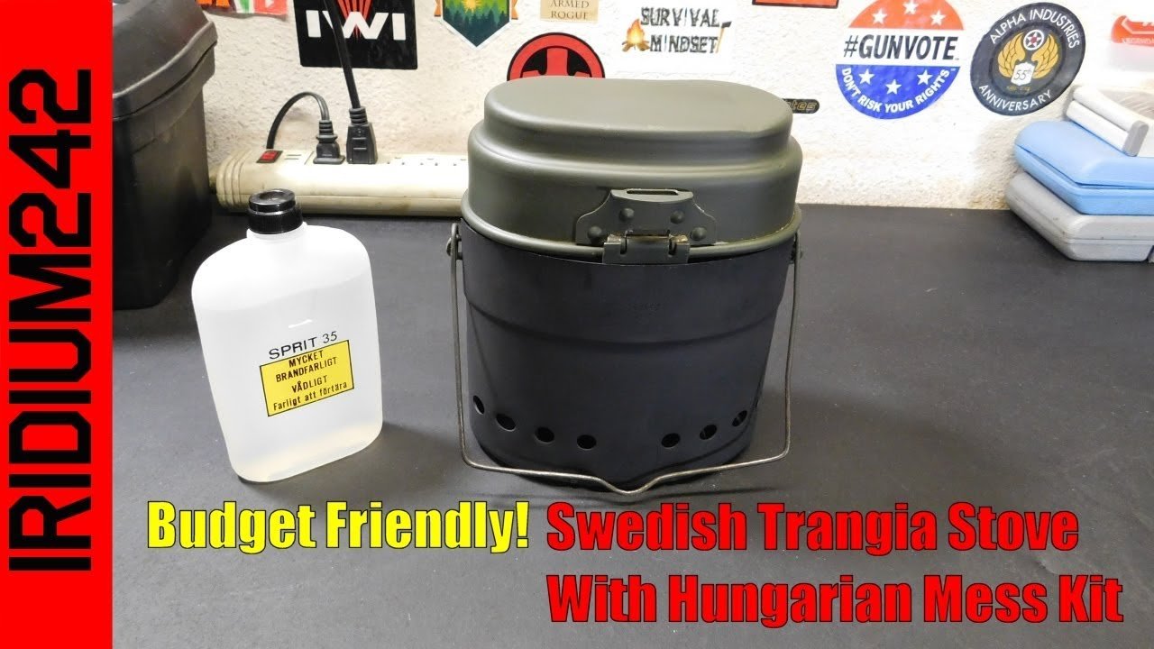 Budget Friendly: Swedish Trangia Stove with Hungarian Mess Kit