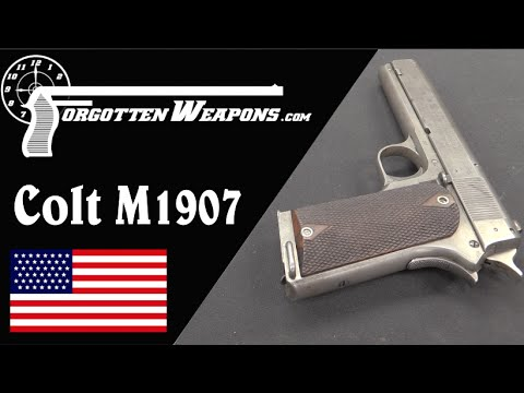 Colt 1907 Trials Pistol
