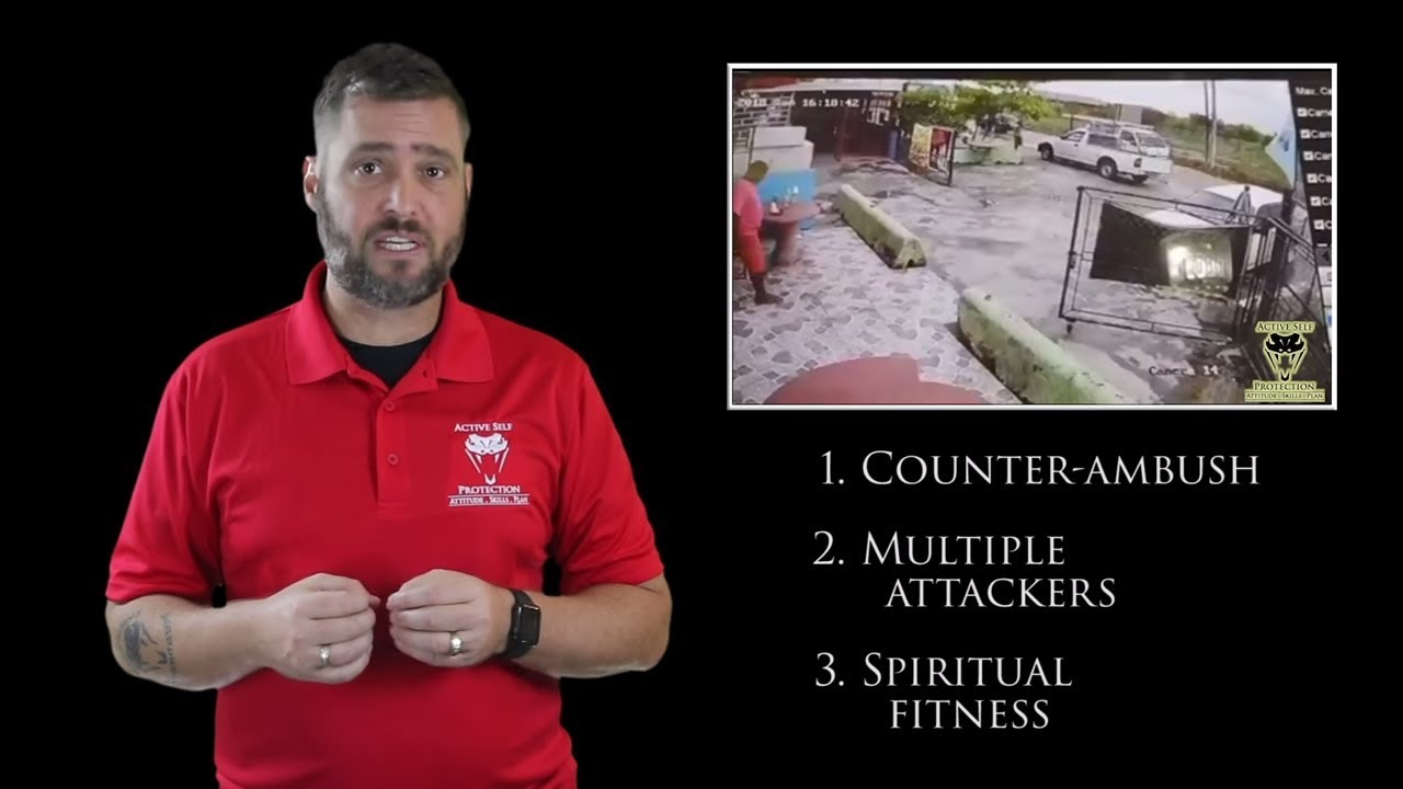 Knowing When To Counter-Ambush Is Crucial | Active Self Protection