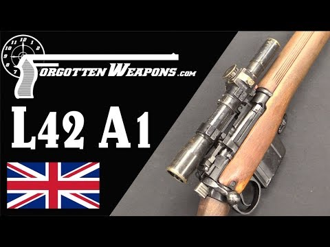 The Last Lee Enfield: the L42A1 Sniper