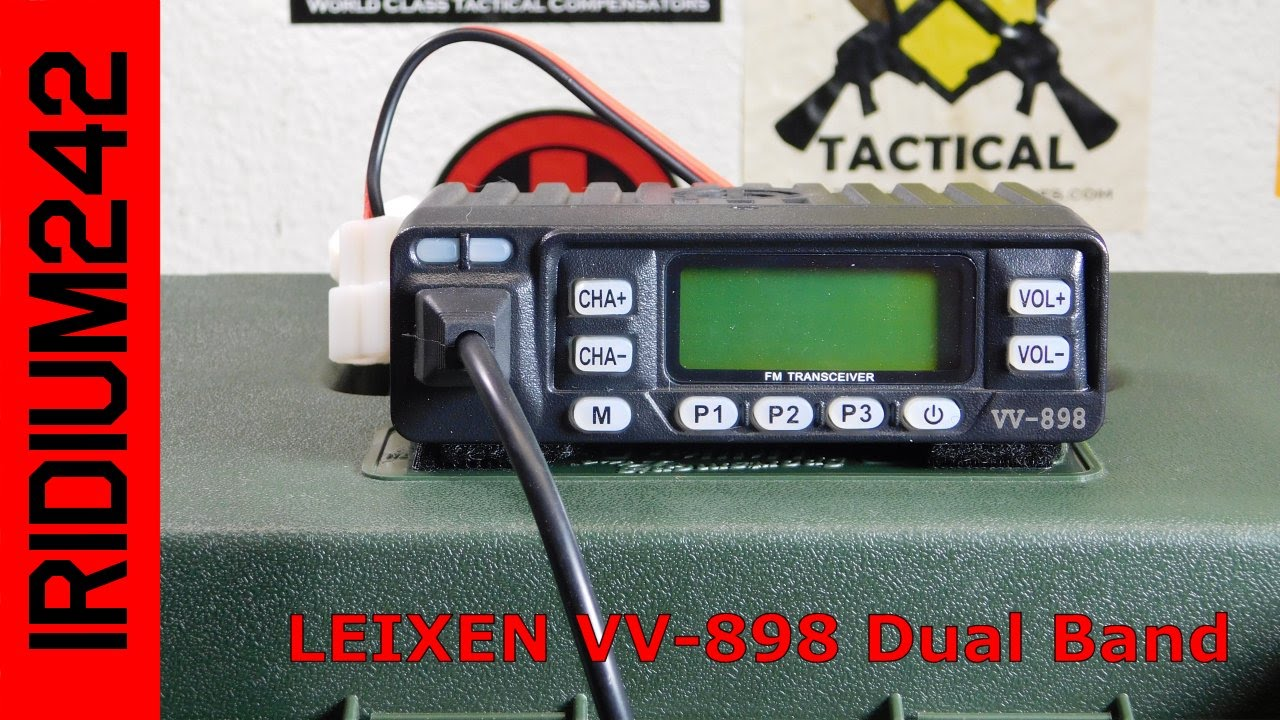 Leixen VV-898 Dual Band Radio And Portable Power!