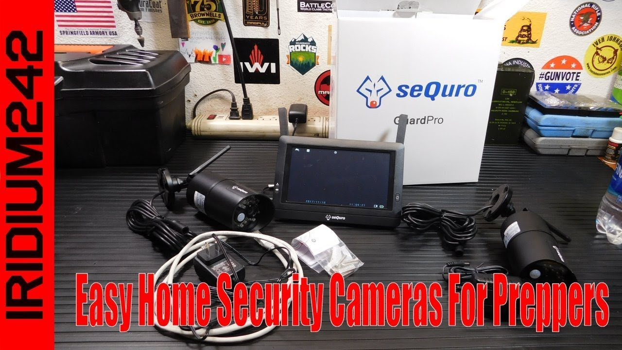 Sequro Wireless: Easy Home Security Cameras For Preppers