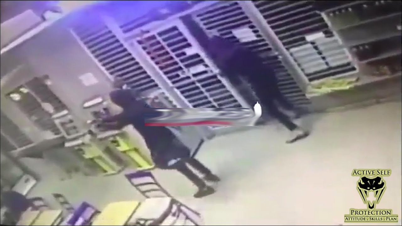Armed Defender Makes Armed Robbers Pay Dearly | Active Self Protection