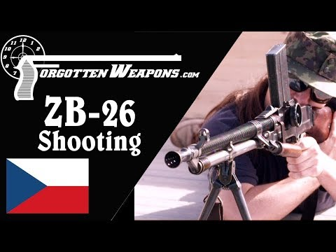 Shooting the ZB-26: A Jewel of an Interwar Light Machine Gun