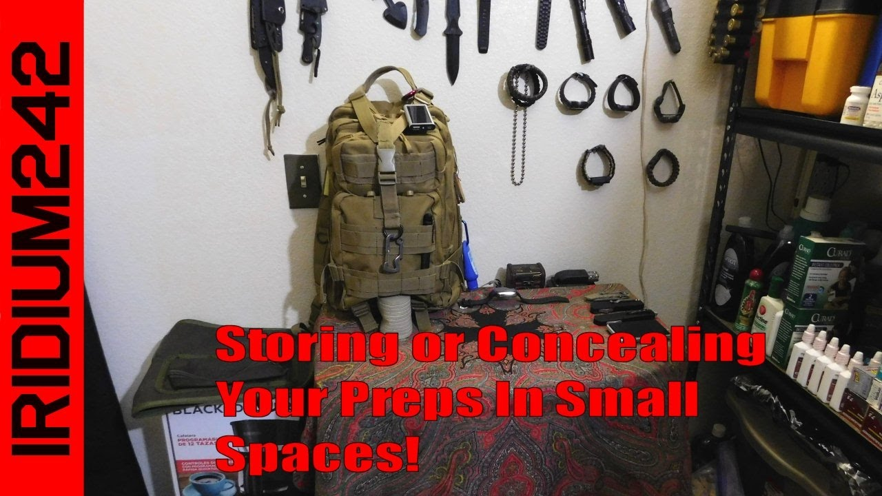 Concealing Preps, Creative Storage In Small Places