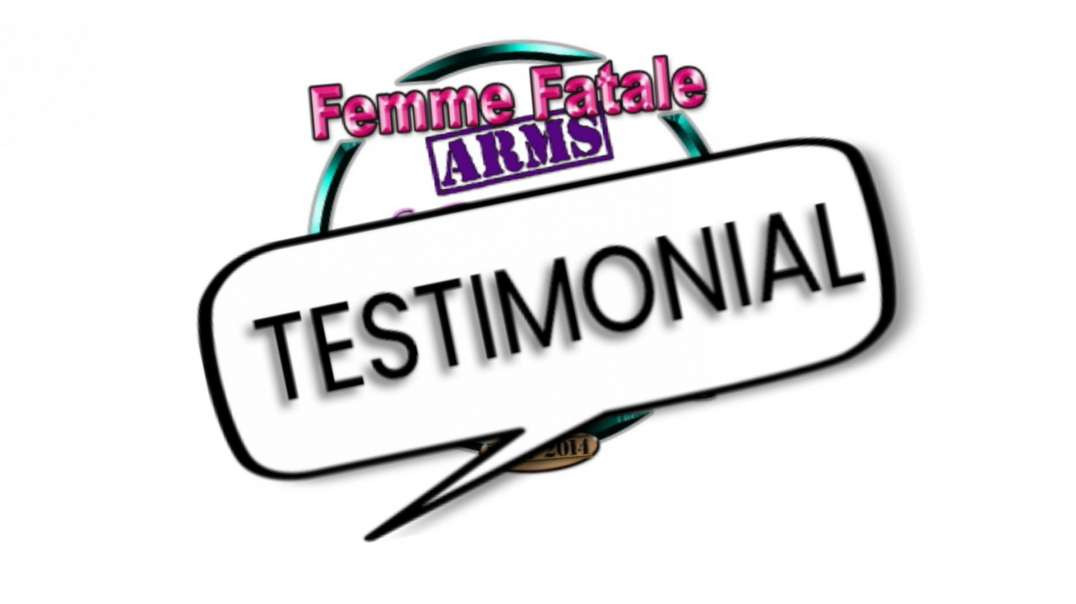 A testimonial about our female focused firearm training.