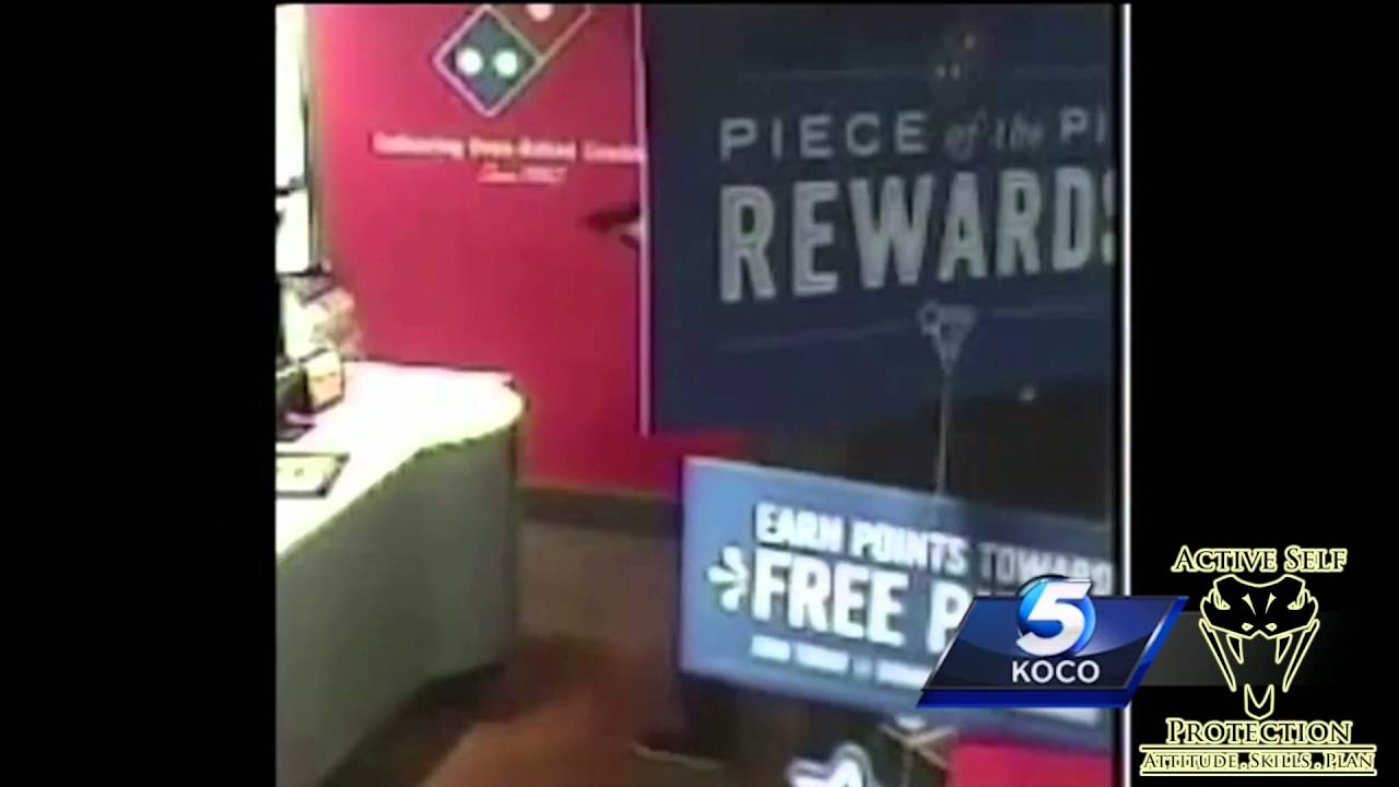 Stupid Armed Robber Shows Why You Stay Aware During an Armed Robbery