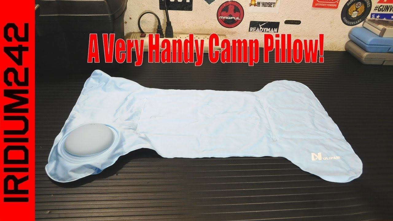 A Great Inflatable Camp Pillow!