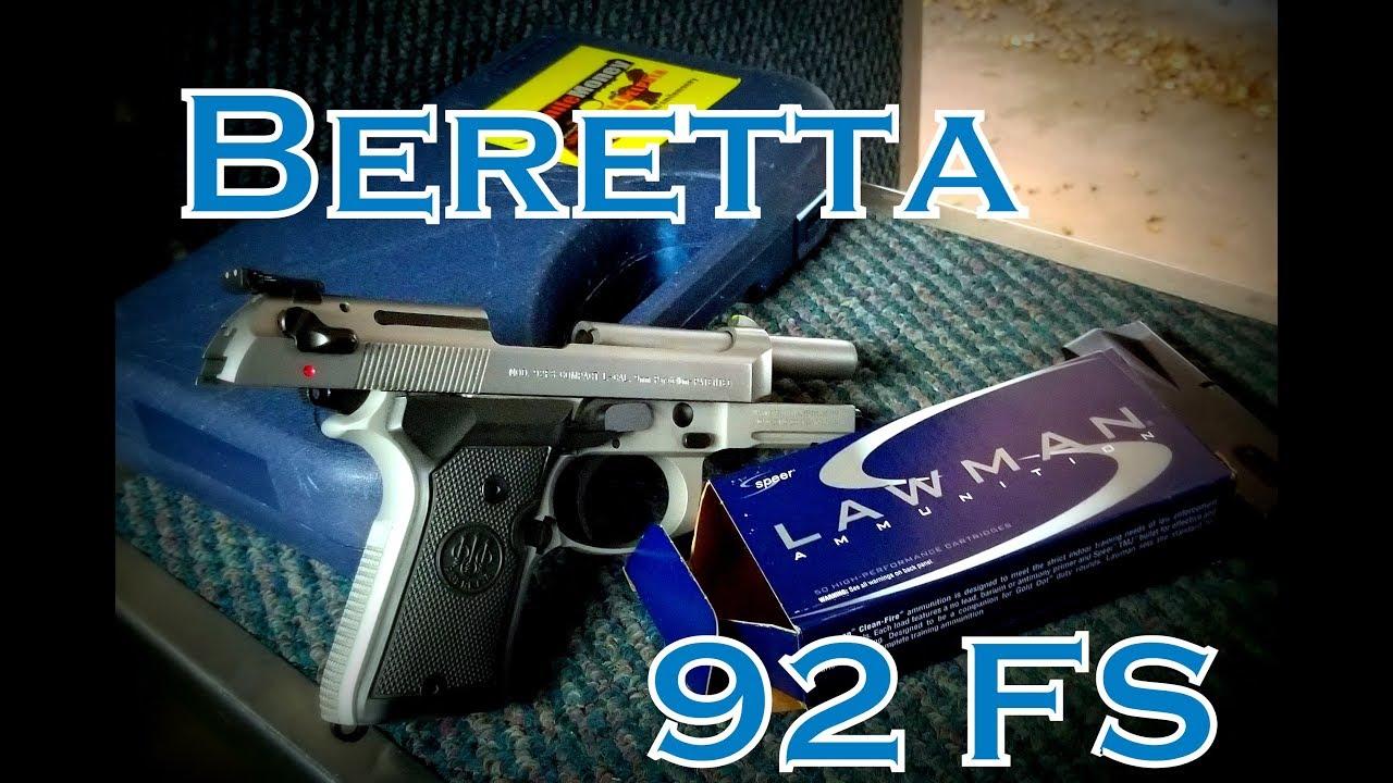 Beretta 92 fs   Range Time