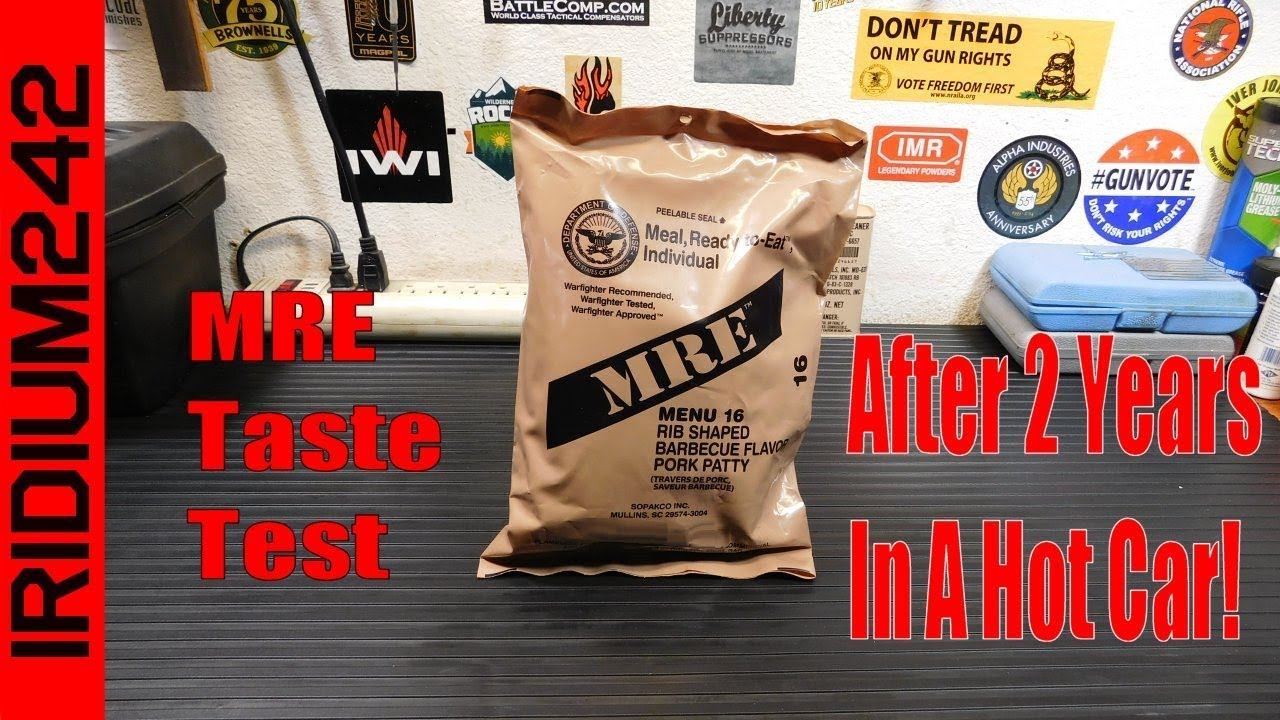 MRE Taste Test After 2 Years In A Hot Car