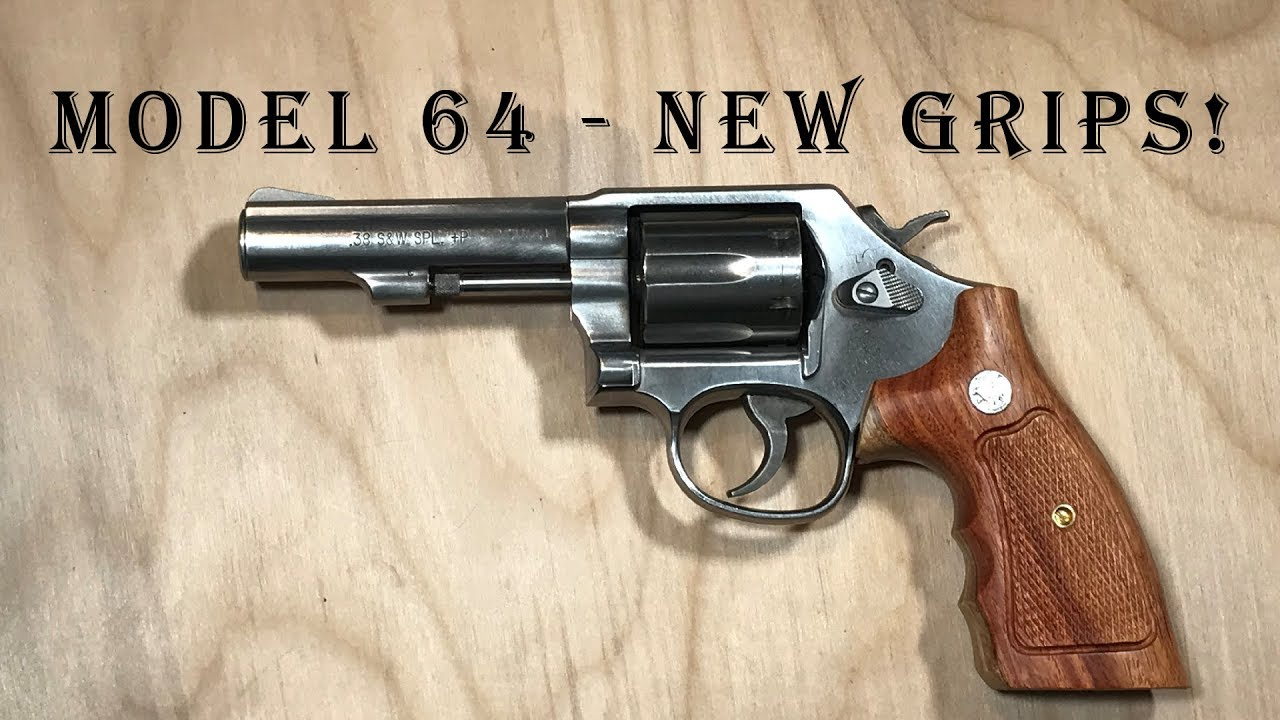 Model 64 Grips - Replacement Grips!