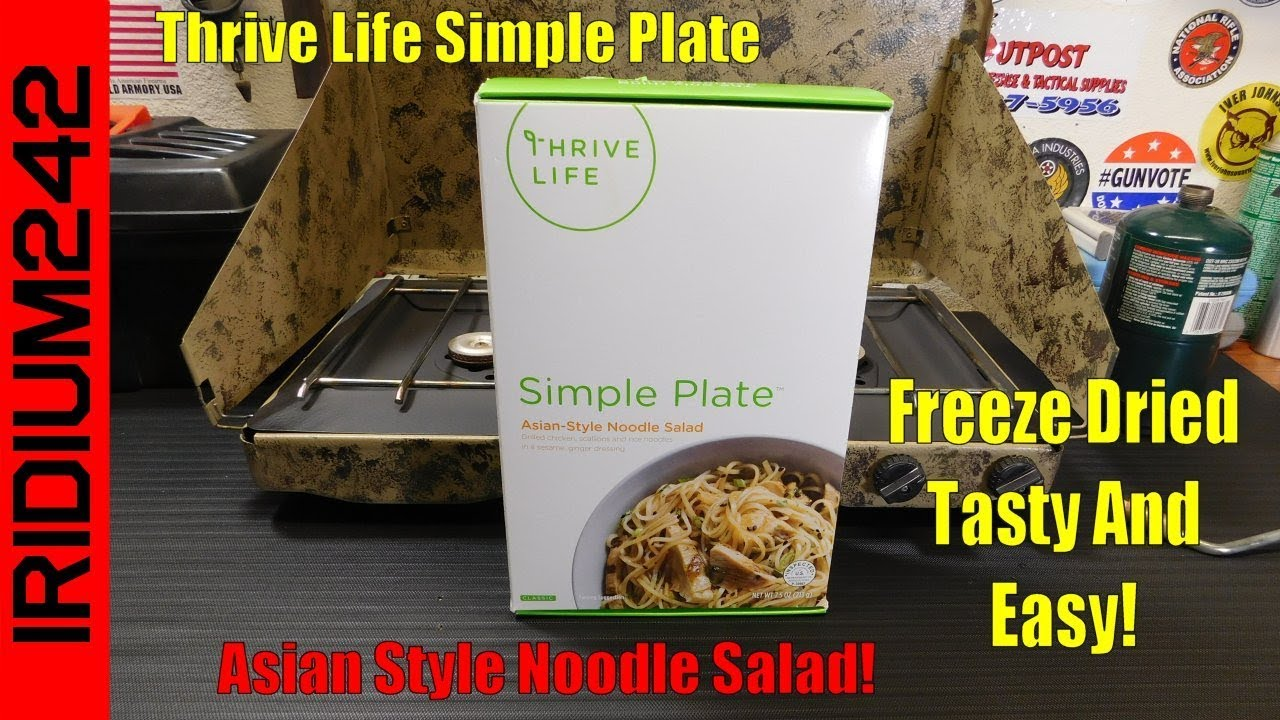 Thrive Life Asian Style Noodle Salad! Good Stuff!