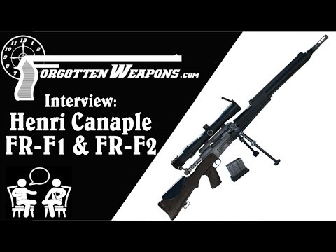History of the FR-F1 and FR-F2 Sniper Rifles: Henri Canaple Interview