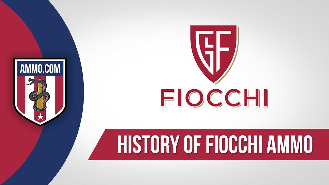Fiocchi Ammo - History
